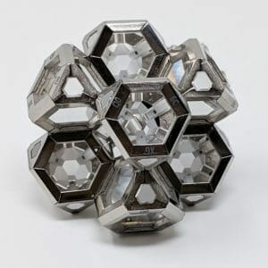 8 ARK crystal geometric assembly