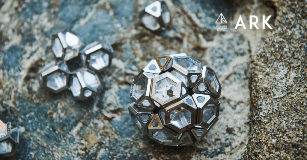 ARK crystals on the rocks