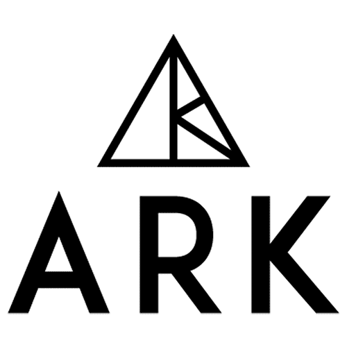 ARK logo Black lettering