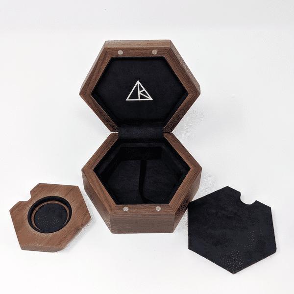 single pendant display case