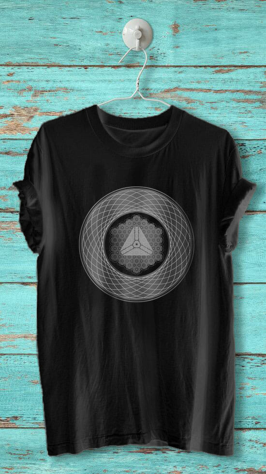 ARK crystal activated t-shirt