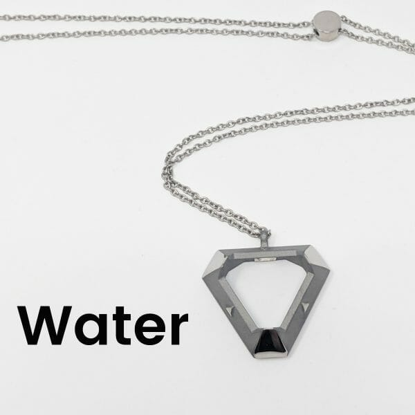 triangle ARK pendant in water style