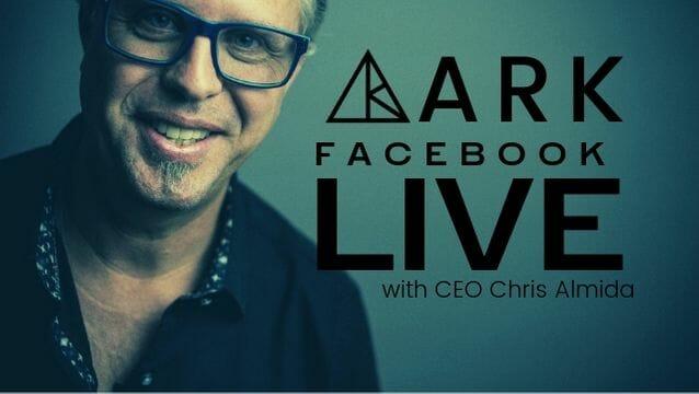 ARK crystal Facebook Live