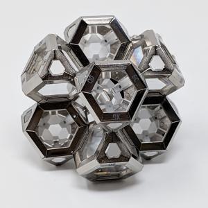 8 ark crystal geometric gravitative assembly