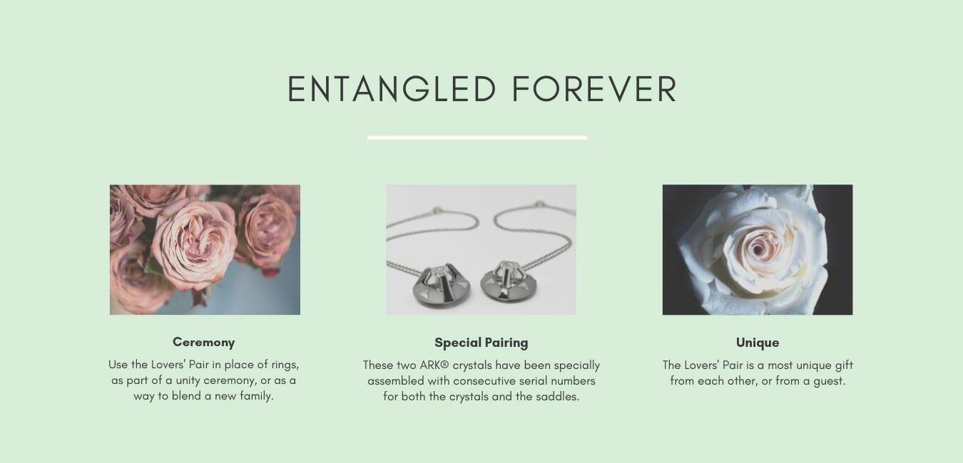 Entangled Forever ceremony uses