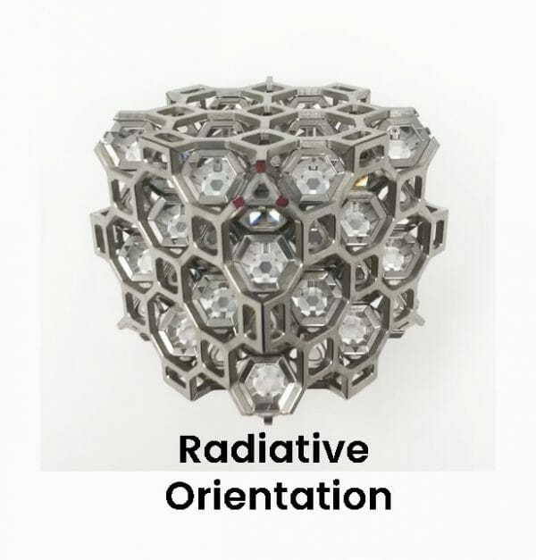64 ARK crystals Radiative Orientation