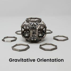Gravitative Orientation 8 ARK crystal Assembly