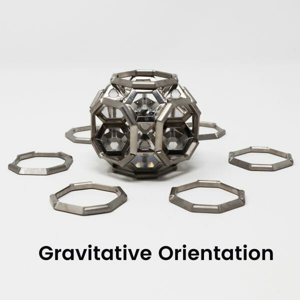 8 ARK crystal geometric assembly Radiative with frames