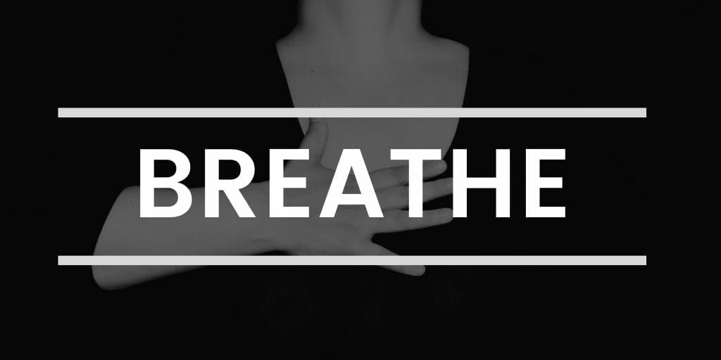 Breathing exercises to decrease stress