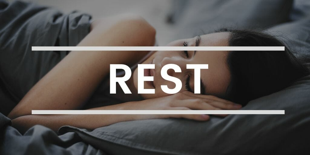 Rest to decrease stress