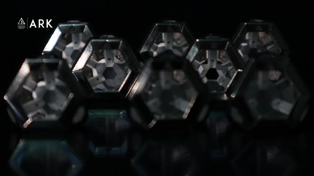 ARK crystals get in formation