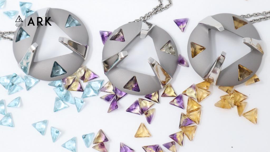 ARK crystal Gemstone Pendants