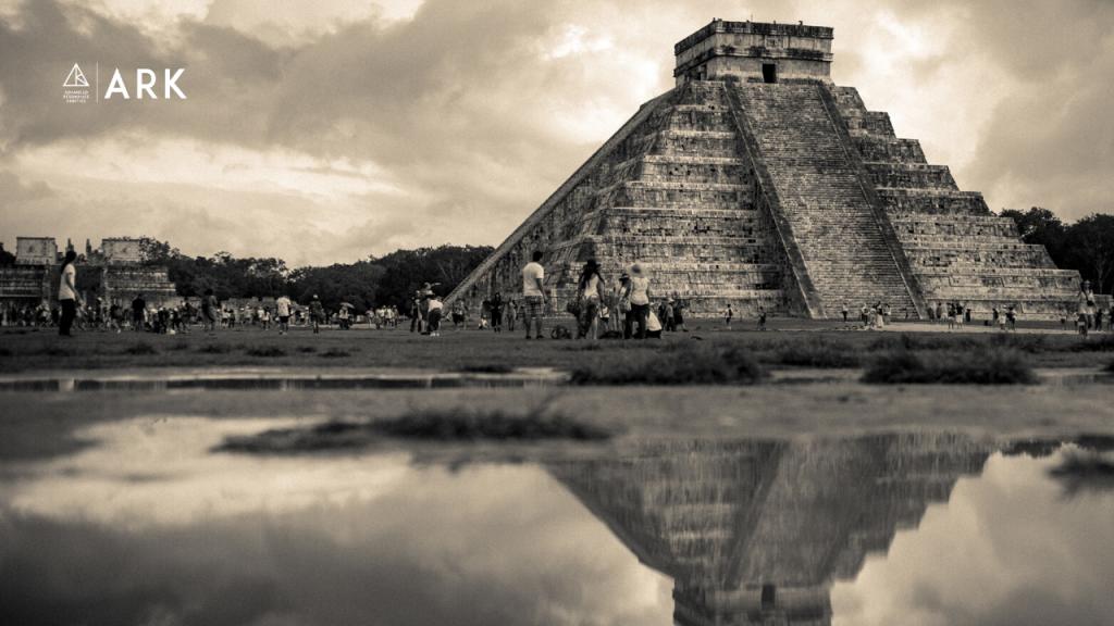 Resonance Trip - Mexico - Chichen Itza El Castillo Temple of Kukulcan Pyramid